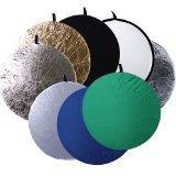 CowboyStudio 8-In-1 43-Inch Round Collapsible Disc Reflector