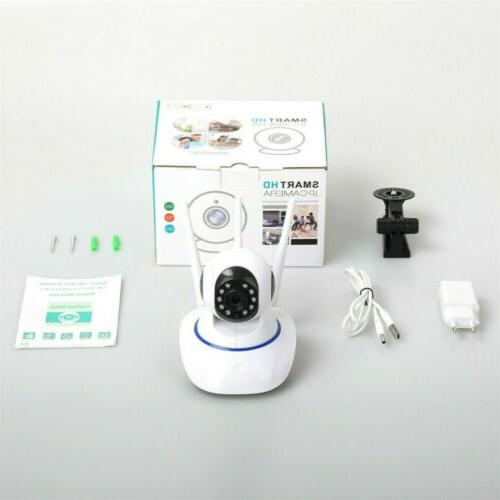 1080P 360° Security Video Cam Night Vision Baby Pet Monitor