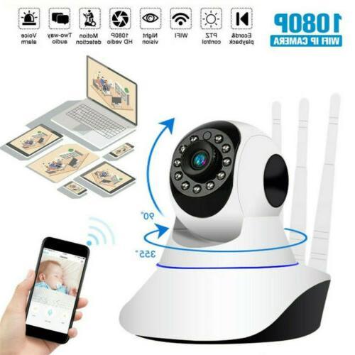 1080P Security Video Camera WiFi Cam Vision Pet Monitor