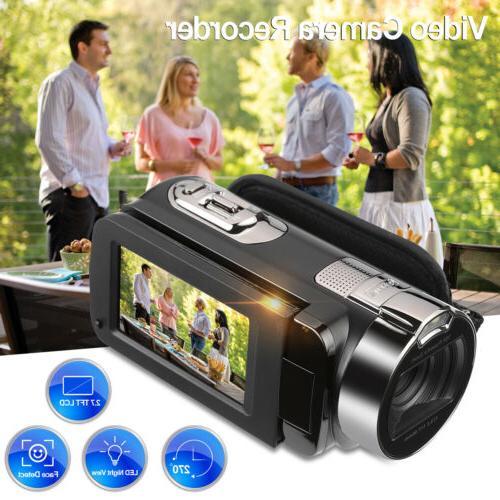 Floureon 16X Zoom 24MP 1080P FHD Digital Video Cameras Camco