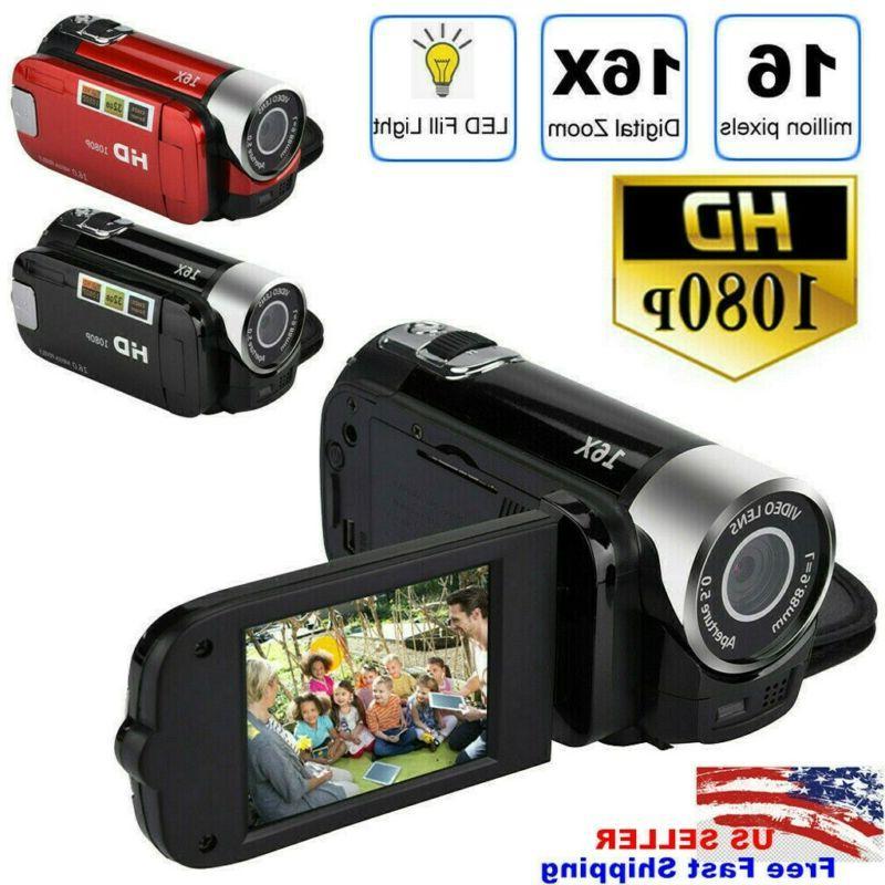 Camcorder Video 1080P TFT LCD 24MP AV