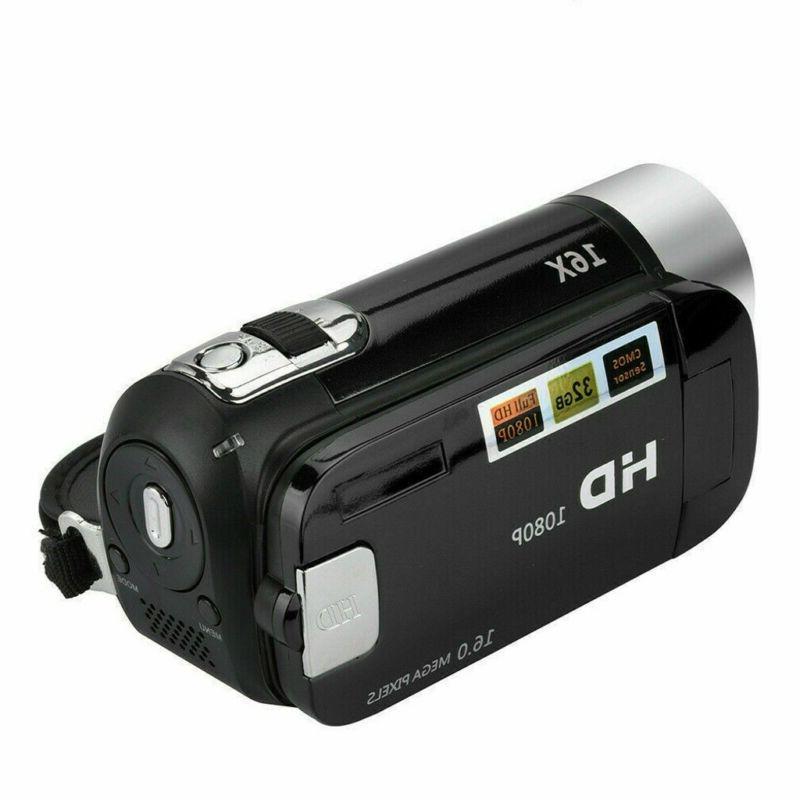 Camcorder Digital Camera 1080P 24MP AV