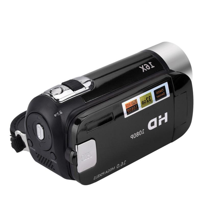 1080P Video Camera TFT LCD AV USA