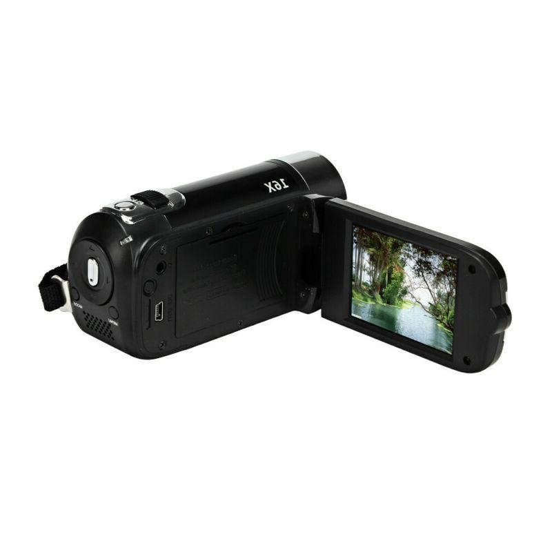 1080P HD Video Camera TFT 24MP Zoom AV Night