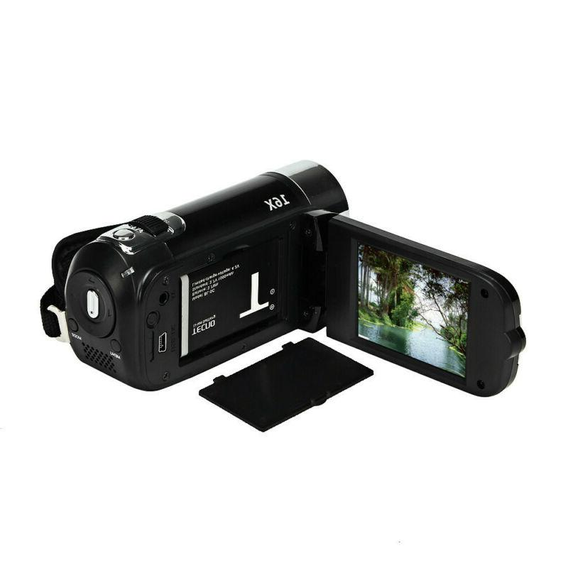 1080P Camcorder Digital Video 24MP 16x AV Vision