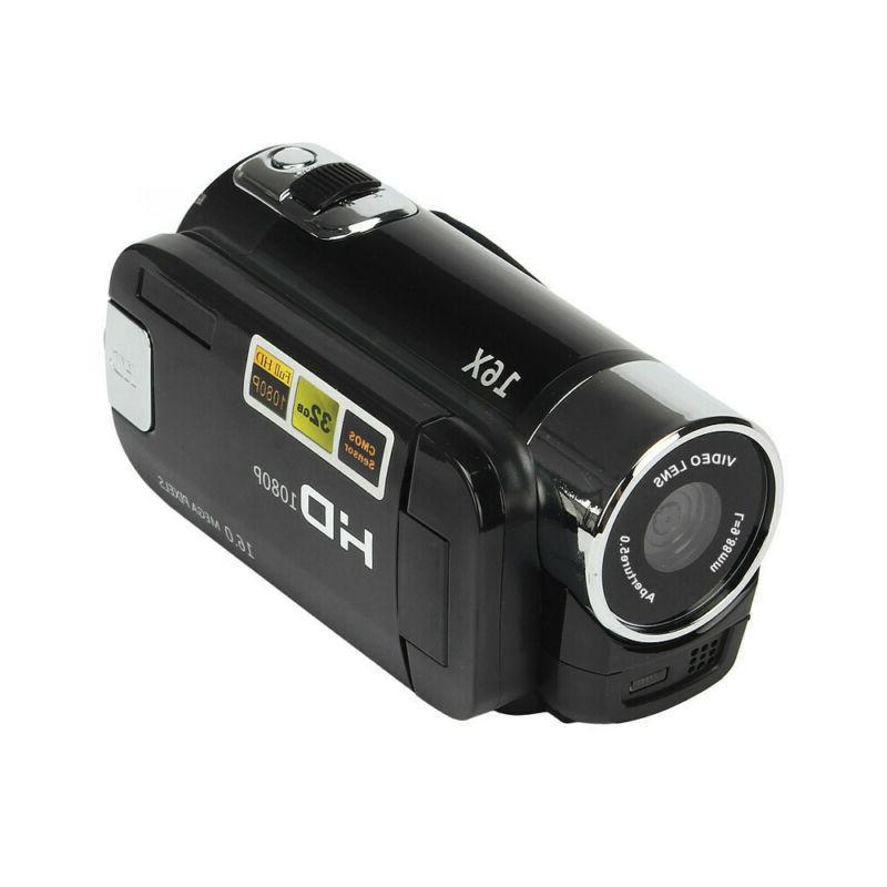 1080P Digital Video Camera TFT 24MP 16x Zoom DV AV Night Vision