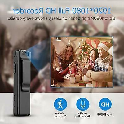 BOBLOV 1080P Mini Cameras with Video Recorder 32G