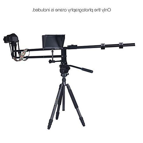 Andoer VS-200 Crane Jib Extendable Photography for Canon Sony Olympus Camera Max.Load Capacity 11Lbs