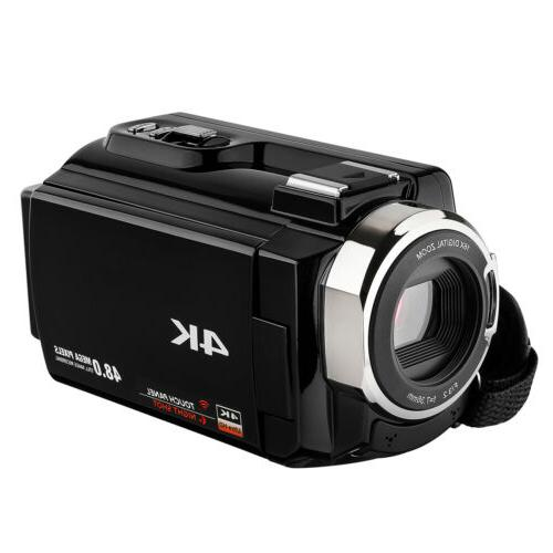 2018 Camcorders Video with Wifi Touchscreen