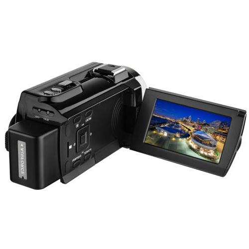 2018 Camera Camcorders Ultra Video Recorder with Wifi Touchscreen