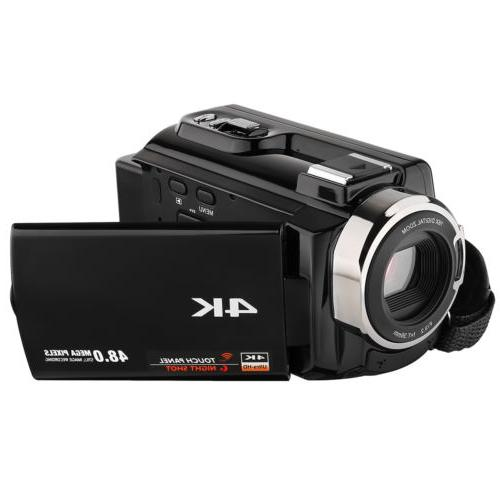 2018 Video Camera Camcorders Ultra with Touchscreen