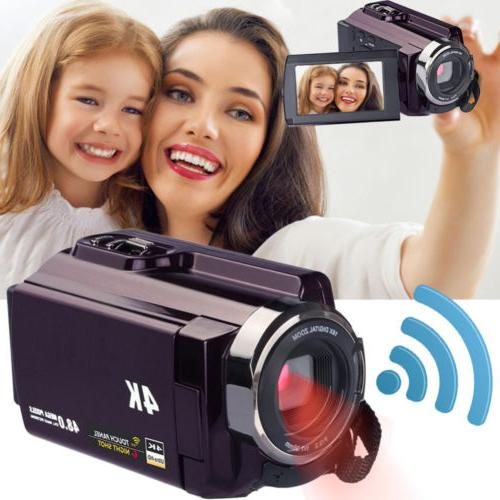 2018 4k video camera camcorders ultra video