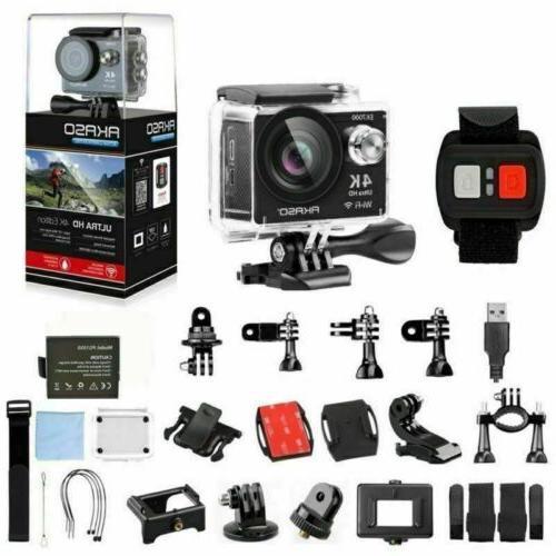 2020 New Black Camera 12MP Waterproof Ultra HD DV CAM
