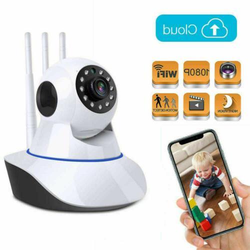 1080p 360 security ip video camera smart