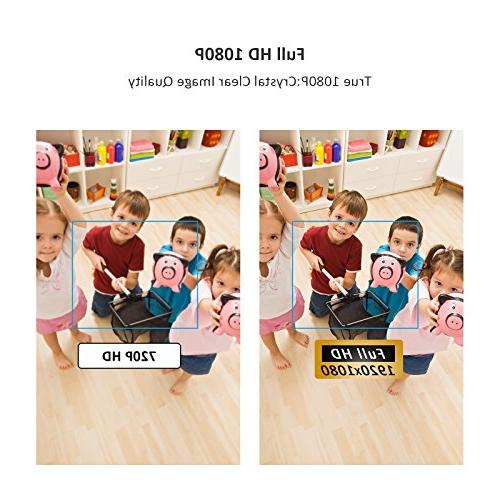 HD 1080P 360 Wireless Security Camera 3D Panorama View Night Vision Two-Way 2.4Ghz Indoor Home, Elder, Pet