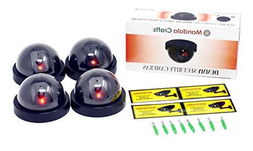 4 Securitycamera-Dummy-Fake Indoor Outdoor Cctv Dummy Securi