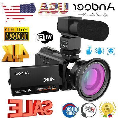 4k 1080p 48mp 16x 3 wifi digital
