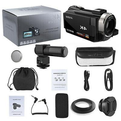 "Andoer HD 1080P 3"" Digital Camera Camcorder DV"