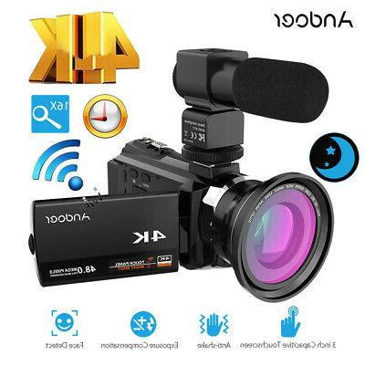 "Andoer 4K HD 1080P 3"" Camera Camcorder"