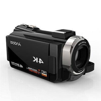 "Andoer 4K WiFi HD 1080P 3"" Camcorder"