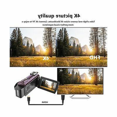 Kenuo 4K Portable Digital Video Camera