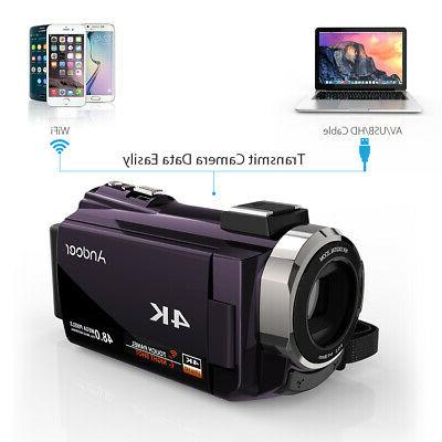 ANDOER WIFI 4K HD 1080P VIDEO CAMERA DV #USA