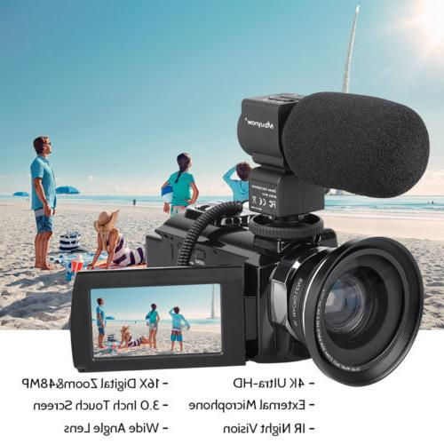 Professional Video Ultra Camcorder