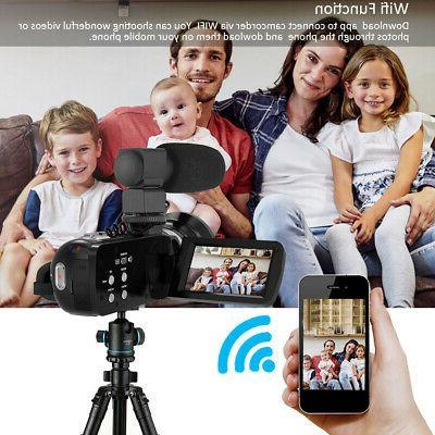 Andoer Digital Camera DV Recorder + Microphone Y1N1