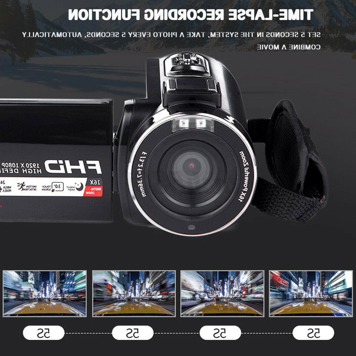 4K 16X HD 1080P Camera Lens + Microphone