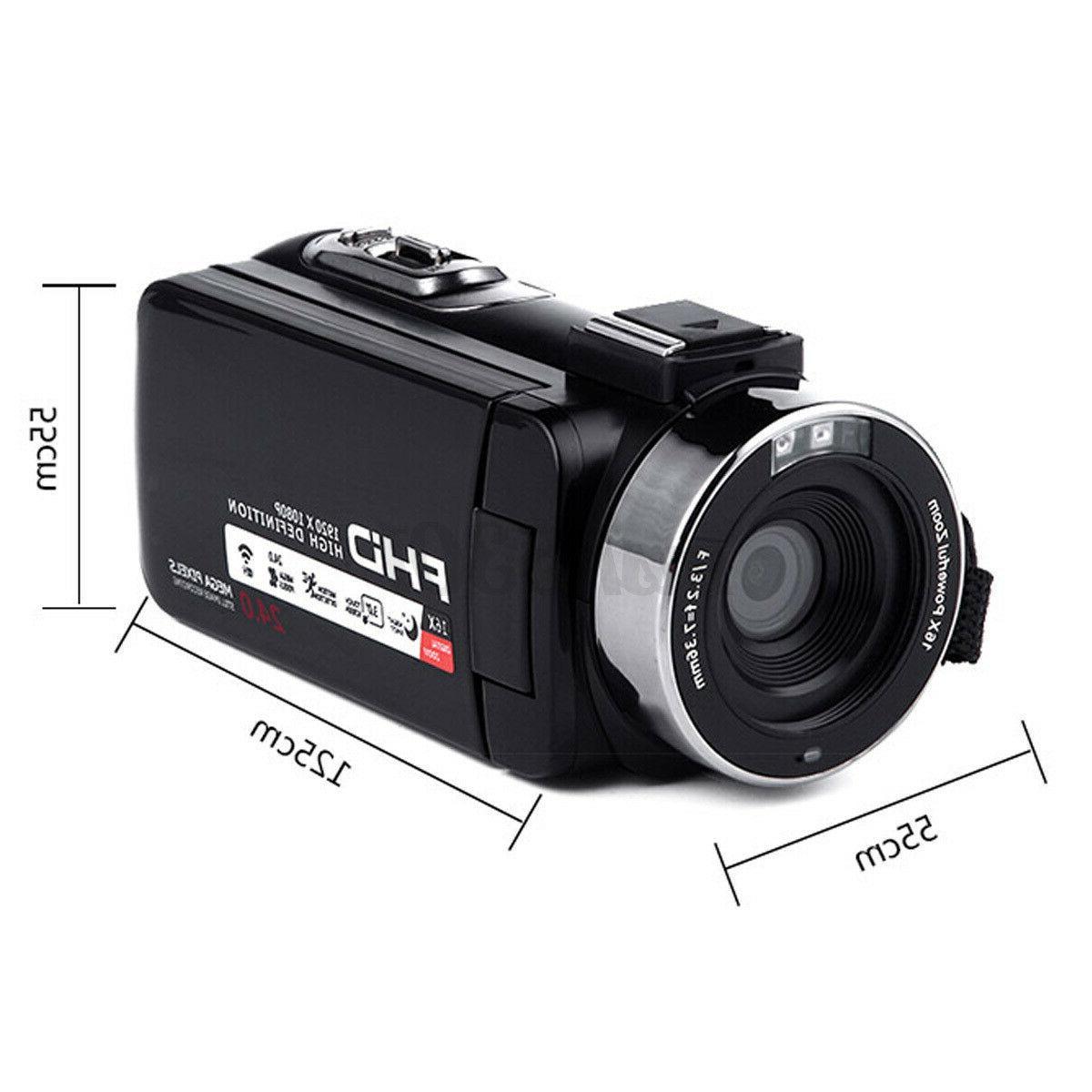 4K WiFi 16X HD Digital Video Camera DV