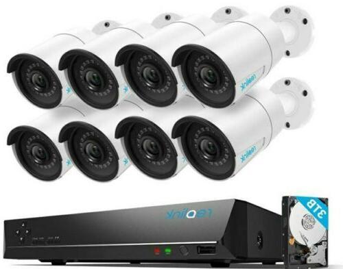 4mp 16ch poe video surveillance system 3tb