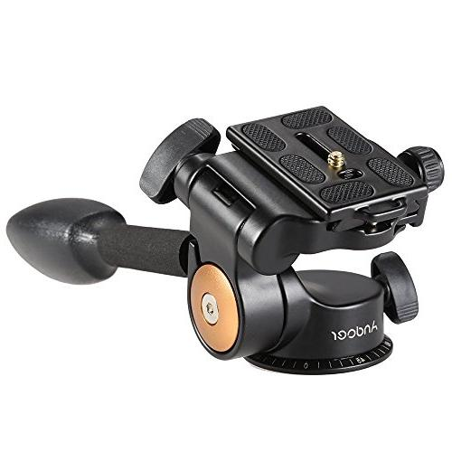 Tripod Monopod 3-way Head Arm with Plate Sony DSLR Camera Manfrotto Tripod