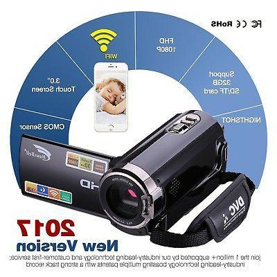 Camcorder Hausbell Wi-Fi HDMI 1920x1080p 16...