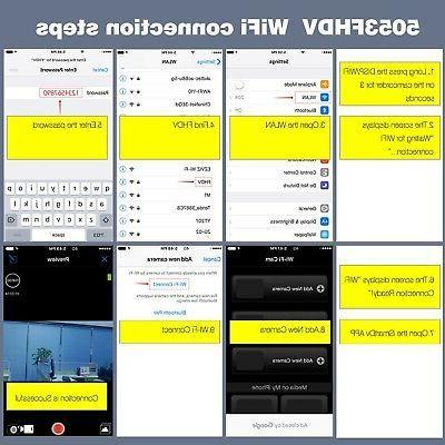 Camcorder Hausbell HDV-5053 Wi-Fi Digital HDMI 16...