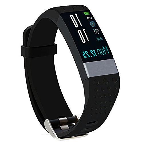 Fitness Tracker, Kasmer Activity Tracker Smart Wristband Col