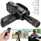 HD 1080P Digital Video Camera Camcorder LCD Screen with 12×