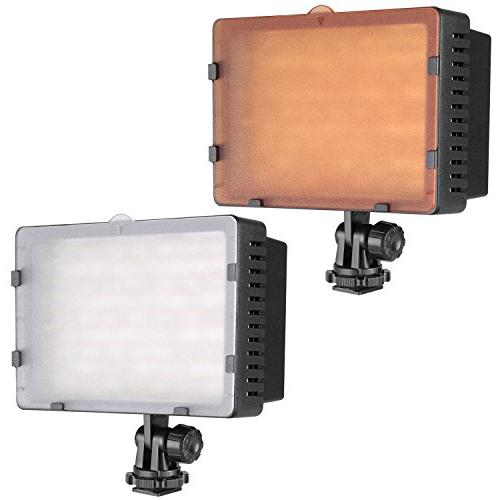 NEEWER CN-160 Dimmable High Panel Digital Camcorder Video Light for Canon, Pentax, Panasonic,SONY, Olympus