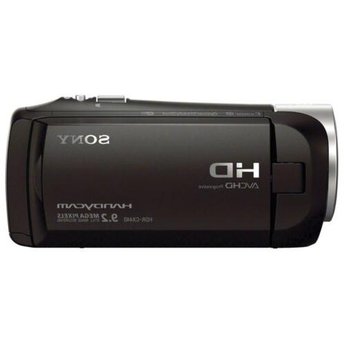 Sony HDR-CX440 Wi-Fi 1080p Camera Camcorder NEW