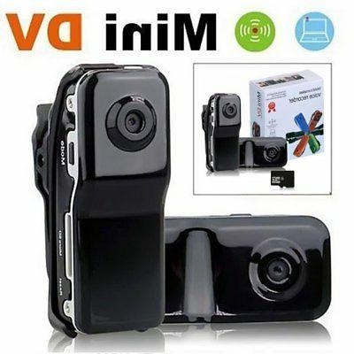 US SHIP Mini Hidden DV Webcam Camcorder Small Pocket Sports