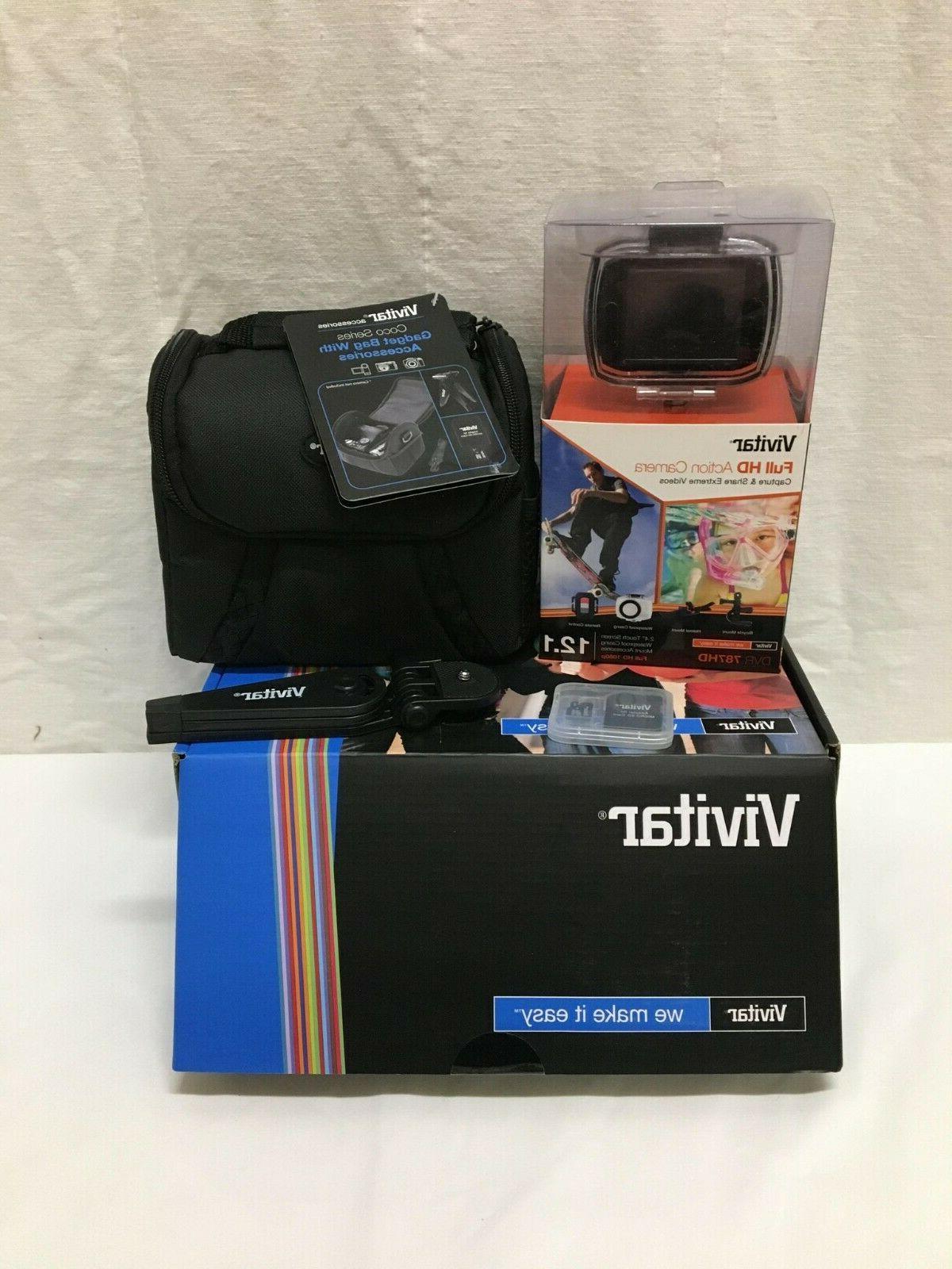 Vivitar HD Action Camera, DVR786HD-BLK