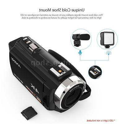 WiFi 4K ULTRA HD 1080P 48MP Digital Camera Camcorder Recorder