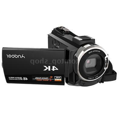 WiFi 4K ULTRA HD 1080P Digital Camera Camcorder