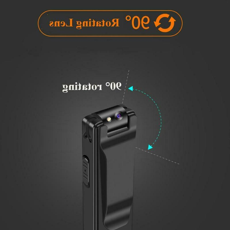 A3 Mini Cameras With Wearable Video Recorder Clip