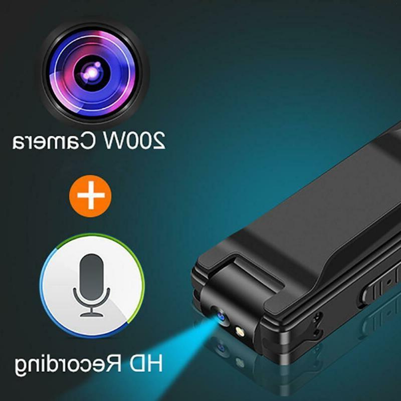 A3 1080P Mini Cameras With Body Video Recorder Back Clip
