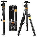 Andoer Light Weight and Compact Camera Tripod Aluminum Alloy
