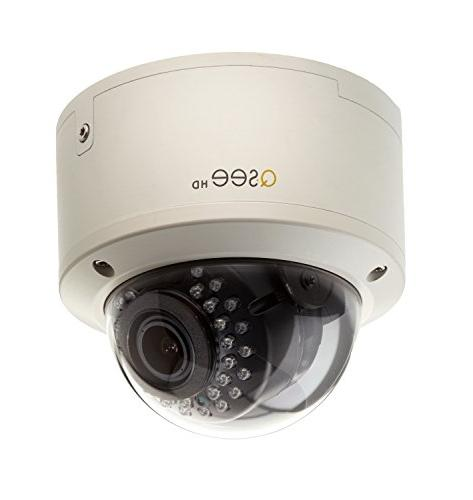 Q-See 1080p FULL HD Auto-Focus Dome Security Surveillance Ca