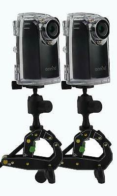 Brinno BCC200 Time Lapse Camera Two-Pack Bundle w/Mount & Ac
