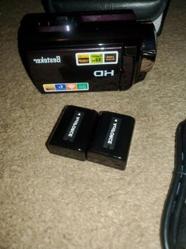 Camcorder,Besteker 1080P Night Vision HD Video