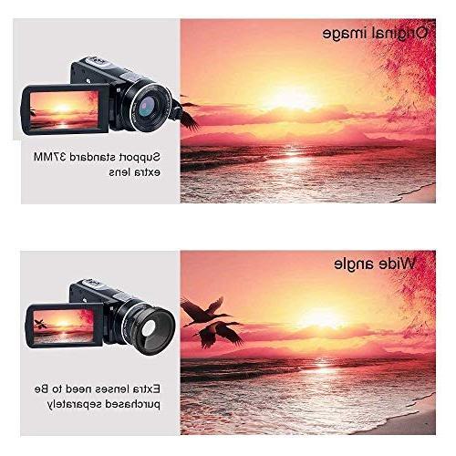 Video Camcorder IR 18X Pixels Full Video Recorder