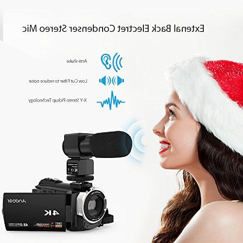 Video Camcorder, Digital Camera 2880 3inch with Support Zoom Max